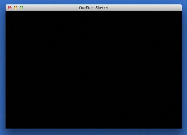 ourEtchaSketch.py - Customised